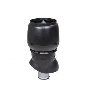 Вентиляционный выход VILPE XL-160/ИЗ/500 160х500 мм черный