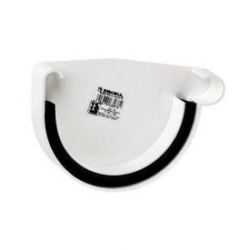 Заглушка ринви права Profil Р 90 мм біла