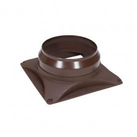 Основание вентилятора VILPE E220 S 300х300 мм коричневое