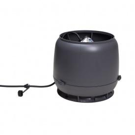 Вентилятор VILPE E190 S 125 мм сірий