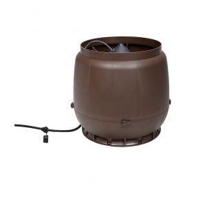 Вентилятор VILPE E250 S 200 мм коричневий