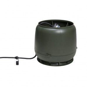 Вентилятор VILPE E190 S 125 мм зелений