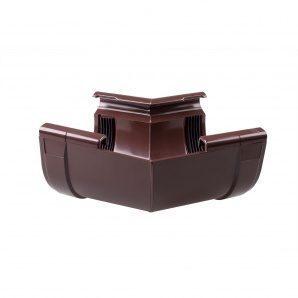 Кут внутрішній Profil W 143° 130 мм коричневий