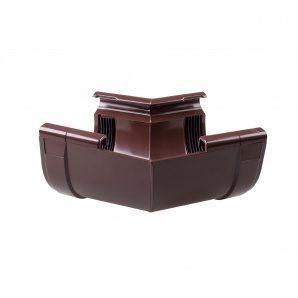 Кут внутрішній Profil W 168° 130 мм коричневий