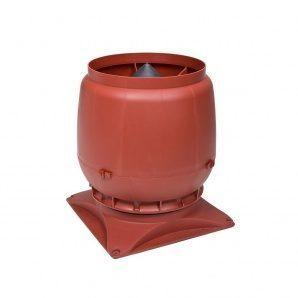 Вентиляційний вихід VILPE S-200 200 мм червоний