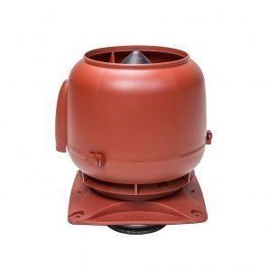 Вентиляційний вихід VILPE S-125 125 мм червоний