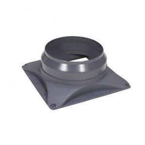 Основание вентилятора VILPE E220 S 300х300 мм серое