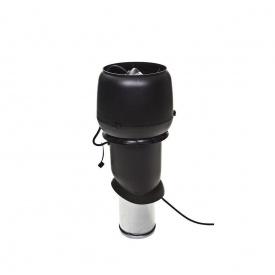 Вентилятор VILPE E220 P 160х500 мм черный