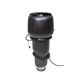 Вентилятор VILPE E190 P 125х500 мм черный