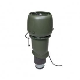 Вентилятор VILPE E190 P 125х500 мм зелений