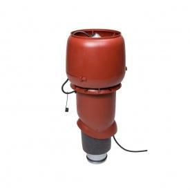 Вентилятор VILPE E190 P 125х500 мм червоний