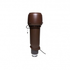 Вентилятор VILPE E190 P 125х700 мм коричневый