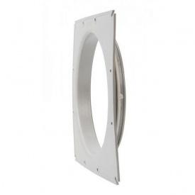 Фланець вентиляційної решітки VILPE 250 мм світло-сірий