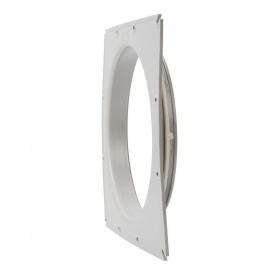 Фланець вентиляційної решітки VILPE 200 мм світло-сірий
