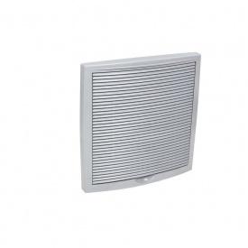 Зовнішня вентиляційна решітка VILPE 375х375 мм світло-сіра