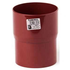 З'єднувач труби Profil 100 мм червоний