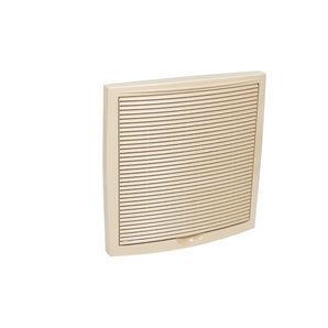 Наружная вентиляционная решетка VILPE 375х375 мм бежевая