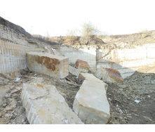 Блок песчаника Русавского месторождения М100 F25