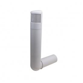 Цокольний дефлектор VILPE ROSS 160 мм світло-сірий