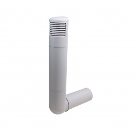 Цокольный дефлектор VILPE ROSS 160 мм светло-серый