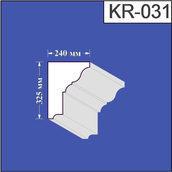 Карниз из пенополистирола Валькирия 240х325 мм (KR 031)