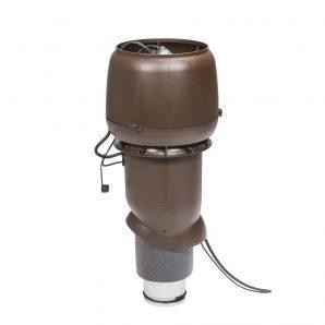 Вентилятор VILPE EСo 190 P 125х500 мм коричневий