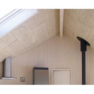Панель з деревної вовни Troldtekt Natural Wood K0 600x600x25 мм