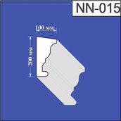 Наличник из пенополистирола Валькирия 100х200 мм (NN 015)