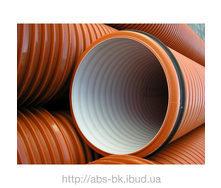 Труба гофрована для каналізації K2-KAN безнапірна 200 мм 6 м