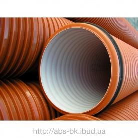 Труба гофрированная для канализации K2-KAN безнапорная 200 мм 6 м