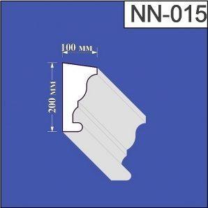 Наличник з пінополістиролу Валькірія 100х200 мм (NN 015)