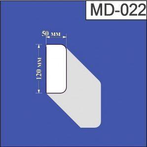 Молдинг з пінополістиролу Валькірія 50х120 мм (MD 022)