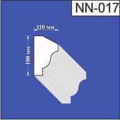 Наличник з пінополістиролу Валькірія 110х180 мм (NN 017)