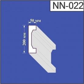 Наличник из пенополистирола Валькирия 50х200 мм (NN 022)