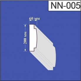 Наличник из пенополистирола Валькирия 60х200 мм (NN 005)