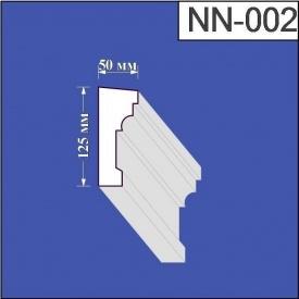 Наличник из пенополистирола Валькирия 50х125 мм (NN 002)