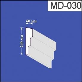 Молдинг из пенополистирола Валькирия 60х240 мм (MD 030)