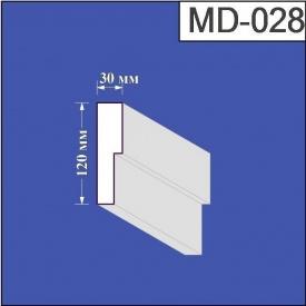 Молдинг из пенополистирола Валькирия 30х120 мм (MD 028)