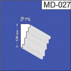 Молдинг из пенополистирола Валькирия 50х120 мм (MD 027)