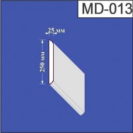 Молдинг из пенополистирола Валькирия 25х250 мм (MD 013)
