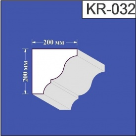 Карниз из пенополистирола Валькирия 200х200 мм (KR 032)