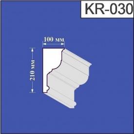 Карниз из пенополистирола Валькирия 100х210 мм (KR 030)