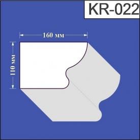 Карниз из пенополистирола Валькирия 160х110 мм (KR 022)