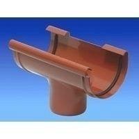 Водостічна воронка Wavin Kanion 75/50х200х107 мм коричнева