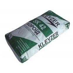 Минеральная штукатурка Kleyzer Структура короед 2 мм серая