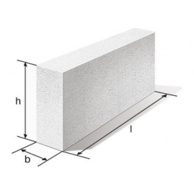 Блок перегородочный 100х288х600 мм