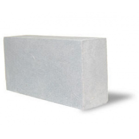 Кирпич силикатный полуторный 88х120х250 мм белый