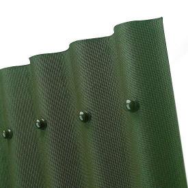 Еврошифер Onduline зеленый 2000х950х3 мм