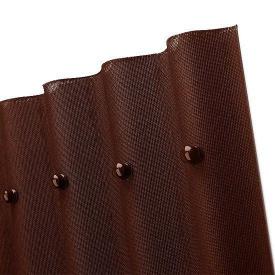 Еврошифер Onduline коричневый 2000х950х3 мм