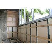 Утепление балконов стиродуром 20-60 см